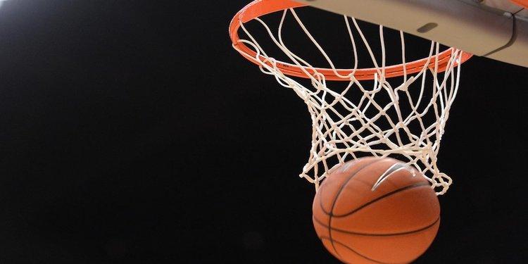 Ball through hoop web