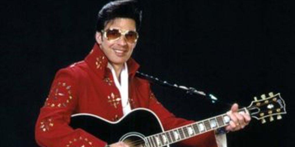 Elvis red suit