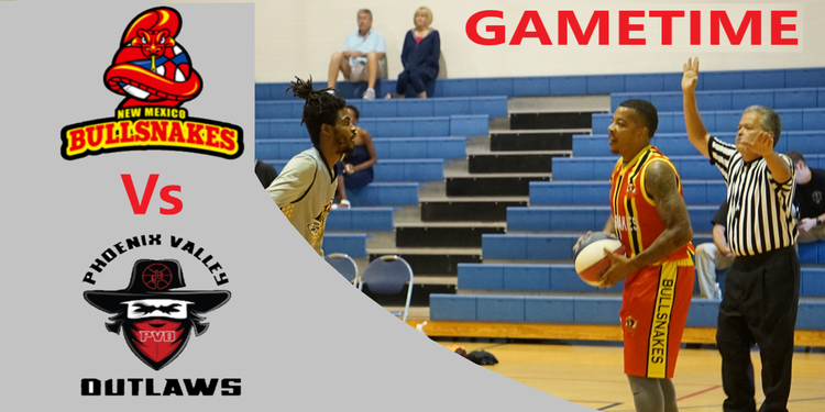 Gameday banner   vs phoenix valley outlaws