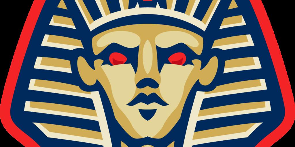 Pharaohs new secondary logo