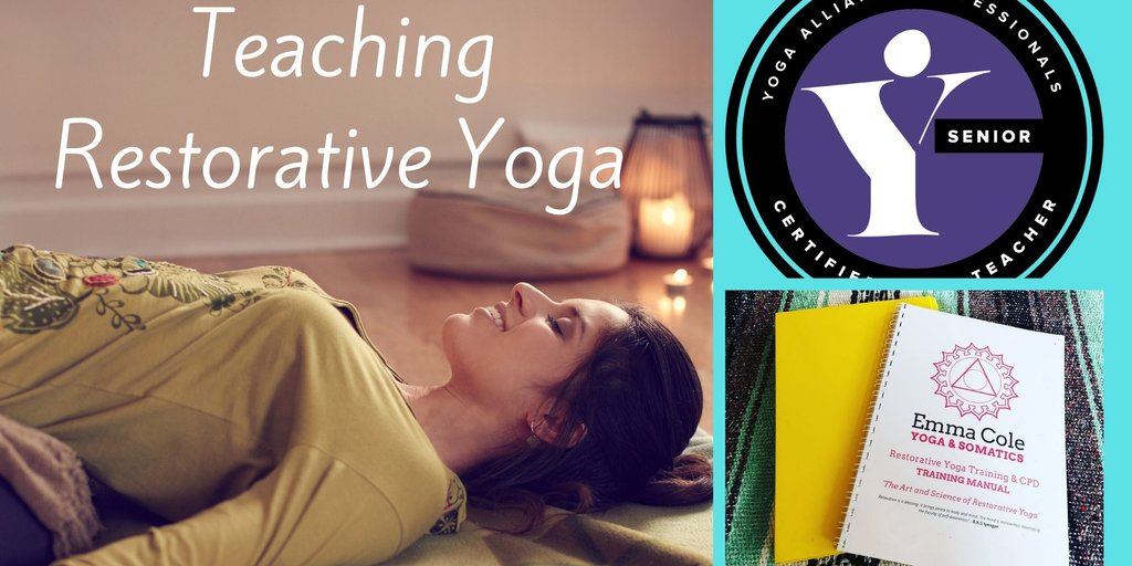 Restorative yoga training level 2