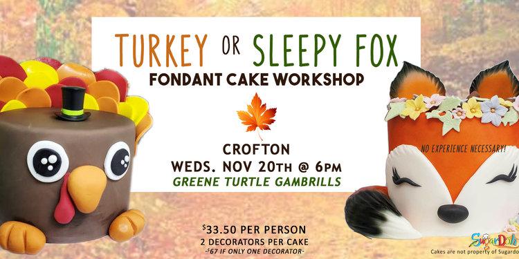 Turkey sleepyfox crofton 20th