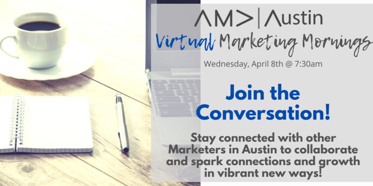 Virtual marketing mornings header