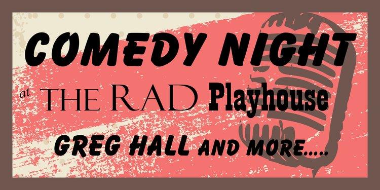 Comedy night website social share