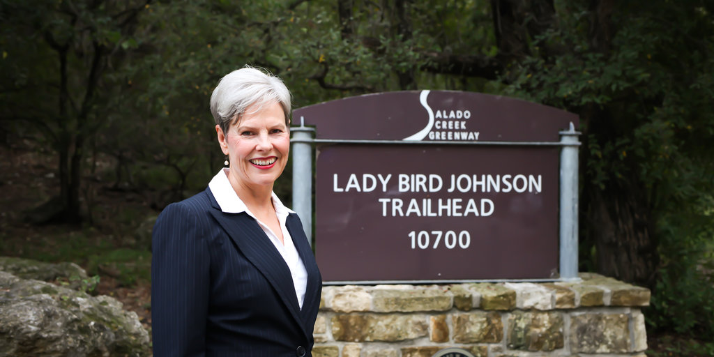 By lady bird johnson trailhead