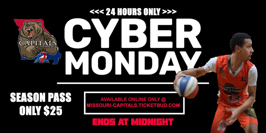 Cyber monday capitals ad copy