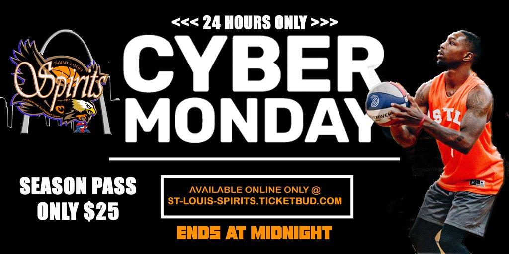 Cyber monday spirits ad copy