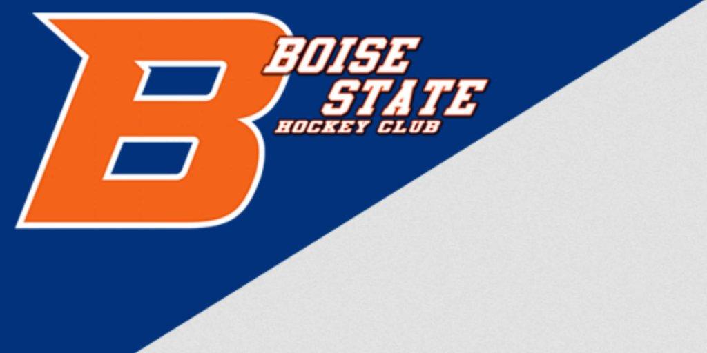 Boise state hockey club logo