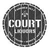 Court liquors logo