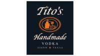 Titos handmade vodka vector logo