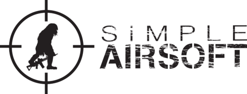 Simple airsoft main logo transparent