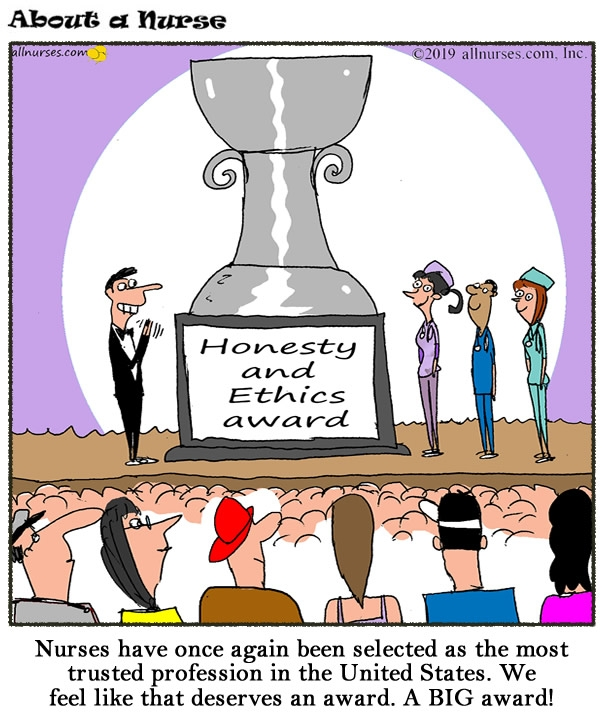 Nurses Are Most Trusted Profession