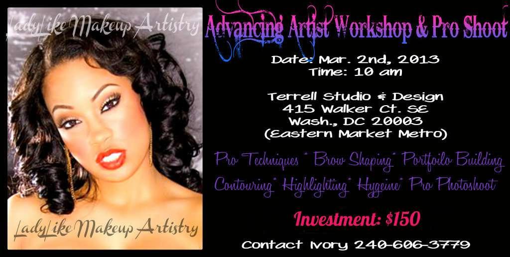 Advance Artist Workshop & Pro Photo Shoot Contact The Event