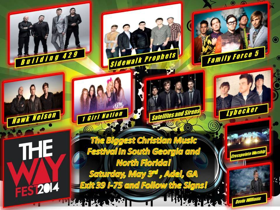 Purchase Online Ticket for The Way Fest 2014