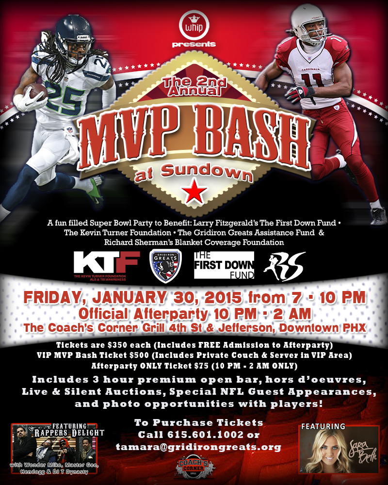 Purchase Online Ticket For The 2nd Annual MVP Bash At Sundown