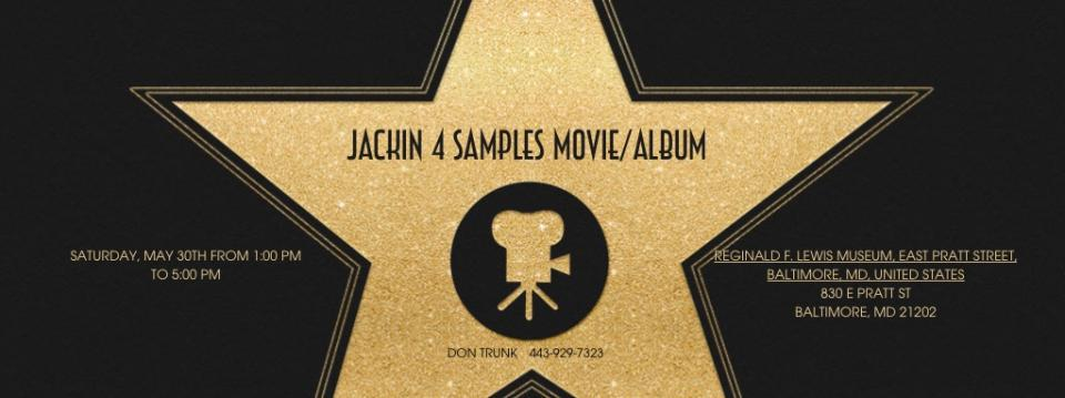 Purchase Online Ticket For Jackin 4 Samples Movie Premiere