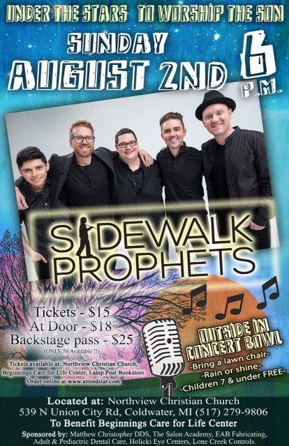 Purchase online ticket for sidewalk prophets concert vip seating and meet greet tickets available m4hsunfo