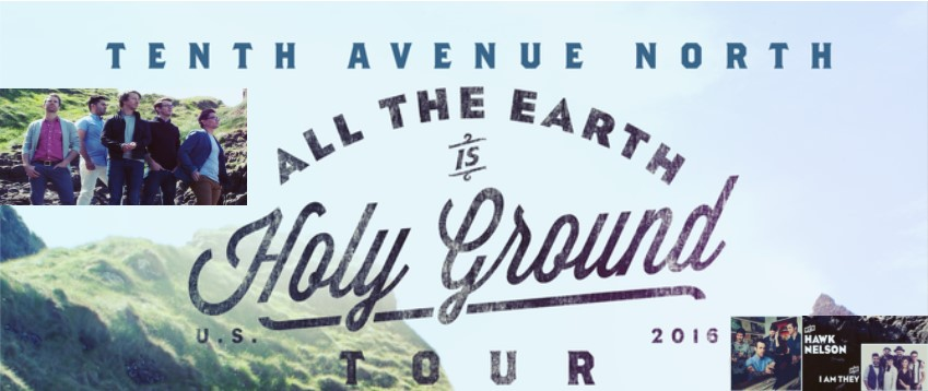 Purchase online ticket for tenth avenue north all the for Tenth avenue north t shirts