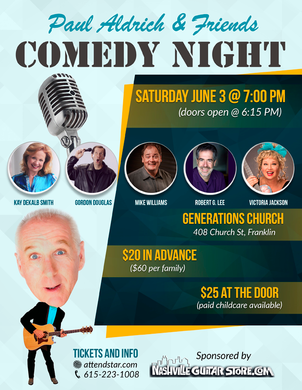 Purchase Online Ticket for Paul Aldrich & Friends COMEDY NIGHT