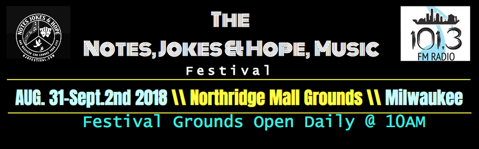 Purchase Online Ticket for Notes, Jokes & Hope Music