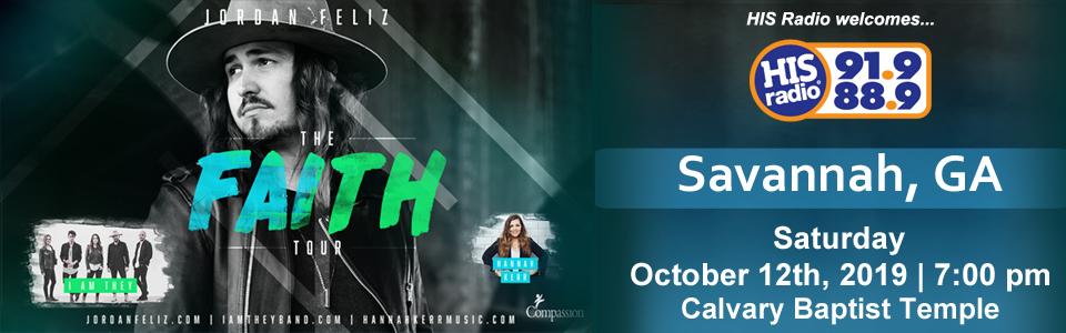 Purchase Online Ticket for Jordan Feliz - The Faith Tour