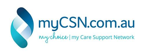 mycsn MYCSN.COM.AU MY CHOICE MY CARE SUPPORT NETWORK Australia Trademark ...