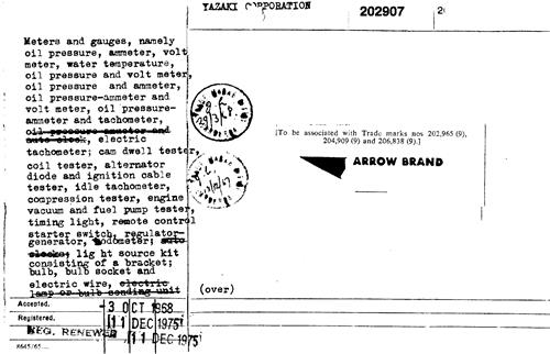 ARROW BRAND Australia Trademark - Reviews & Brand Information