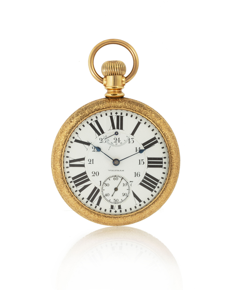 76de1dc07 Rare & Important Timepieces from a Private Collection – John Moran ...