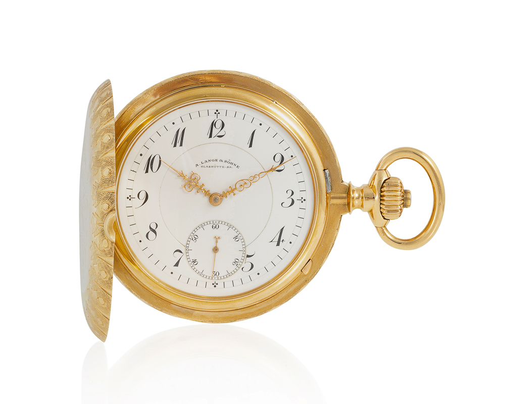 Lot 49: A. Lange & Söhne Anchor Chronometer pocket watch Image