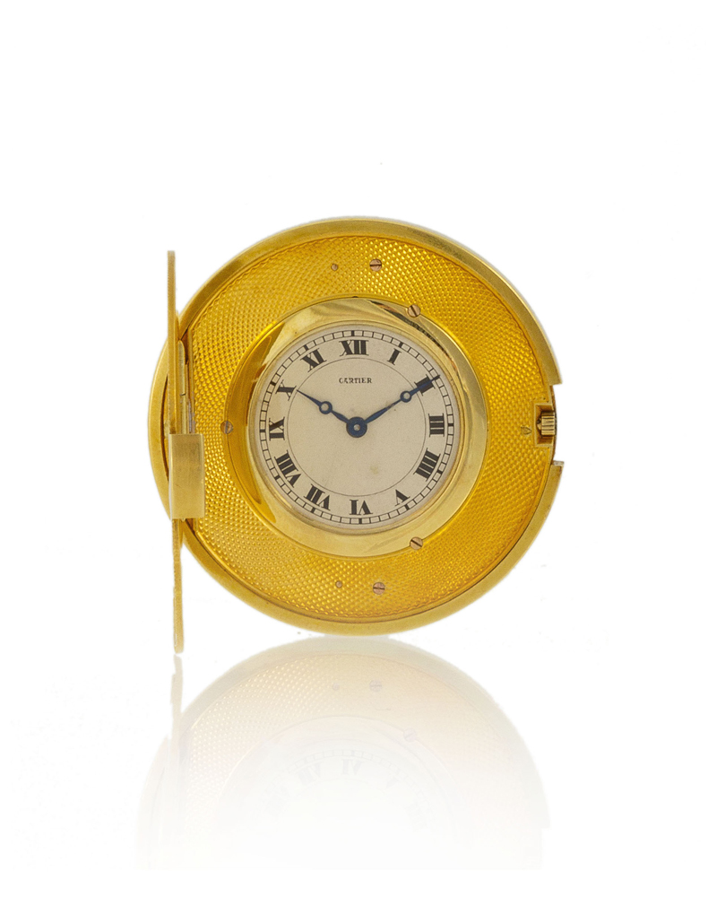 Lot 52: Cartier coin-form watch Image