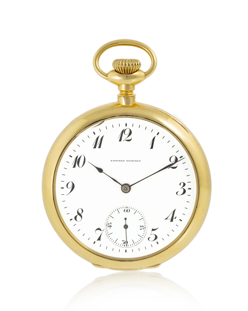 Lot 86: E. Howard Watch Co. pocket watch, No. 198 Image