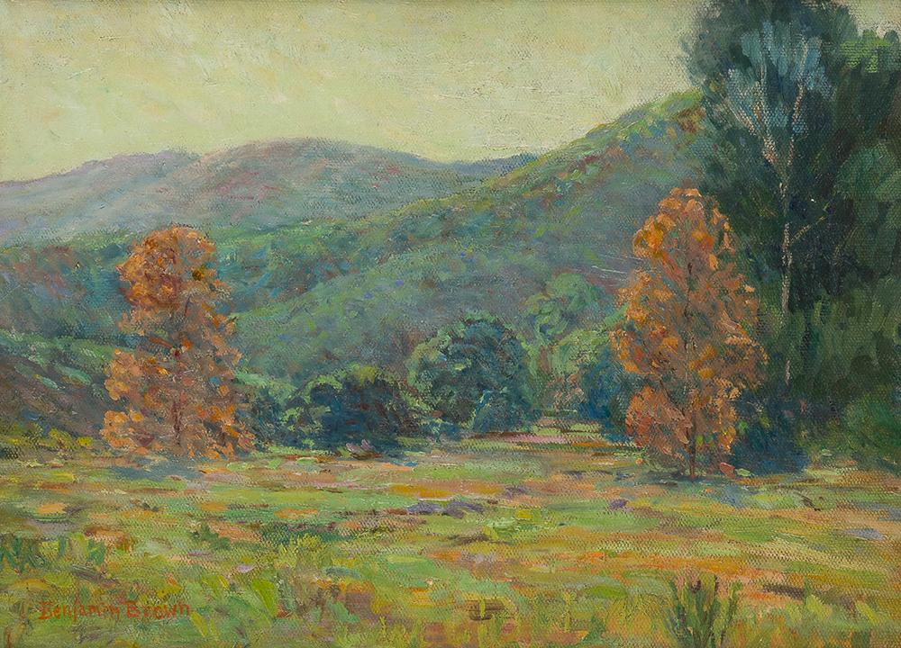 Lot 2002: Benjamin Chambers Brown (1865-1942 Pasadena, CA) Image