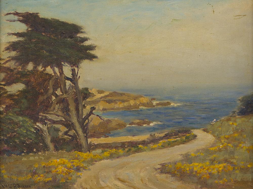 Lot 2008: William C. Adam (1846-1931 Pacific Grove, CA) Image