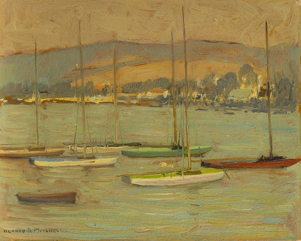 Lot 2019: Alfred R. Mitchell (1888-1972 San Diego, CA) Image