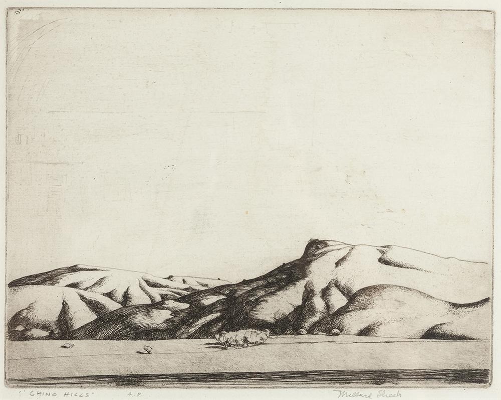 Lot 2022: Millard Owen Sheets NA (1907-1989 Gualala, CA) Image