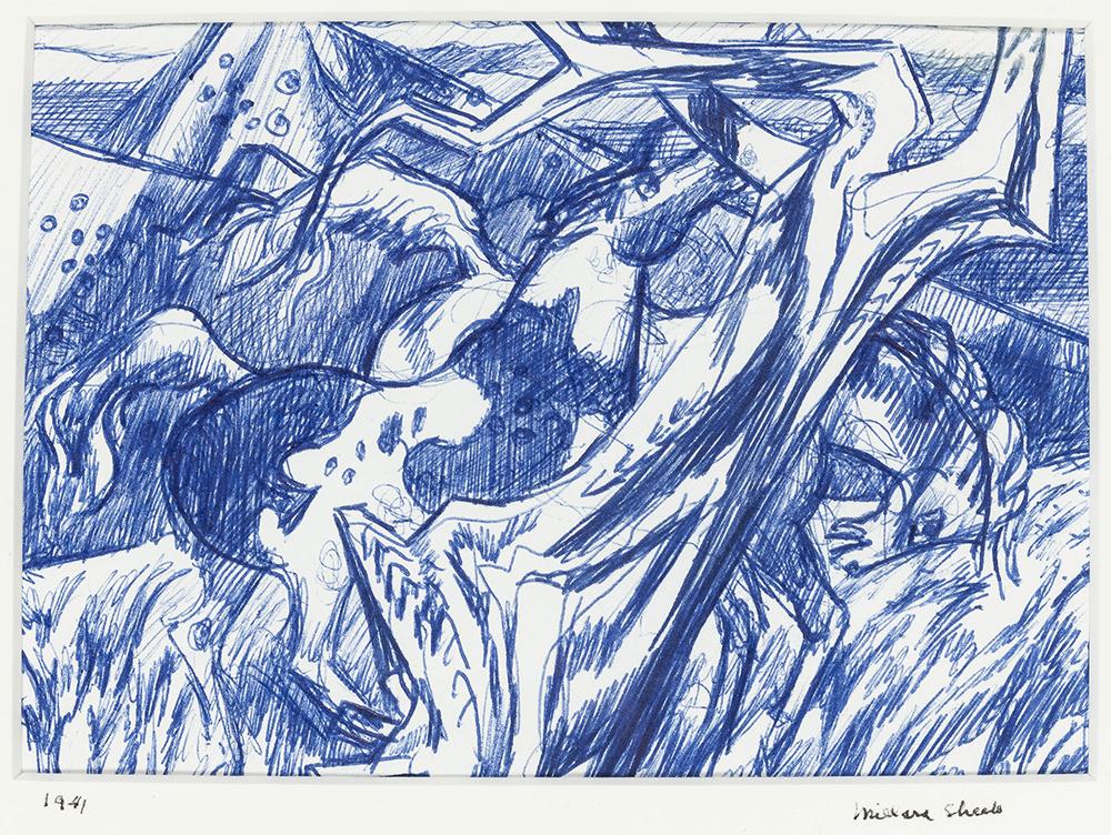 Lot 2023: Millard Owen Sheets NA (1907-1989 Gualala, CA) Image