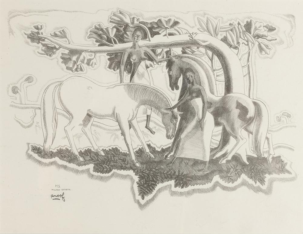 Lot 2024: Millard Owen Sheets NA (1907-1989 Gualala, CA) Image