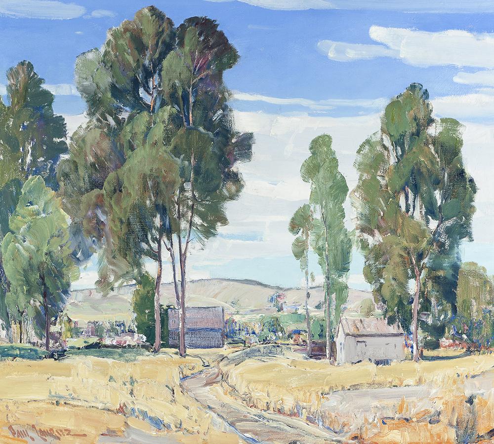 Lot 2026: Paul Lauritz (1889-1975 Glendale, CA) Image