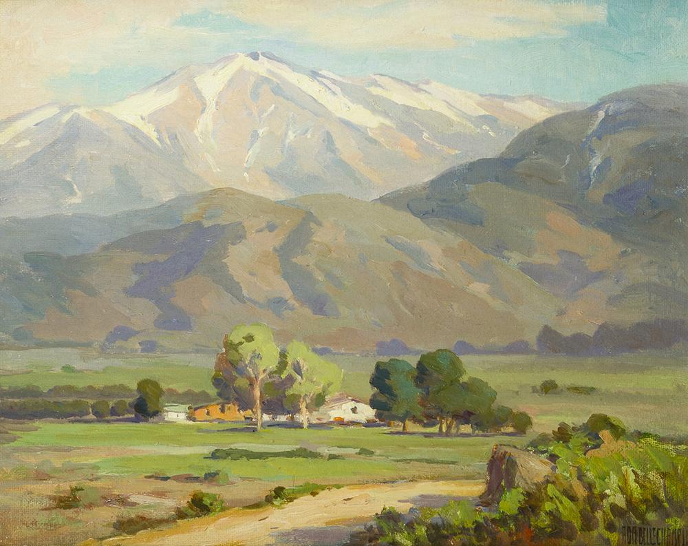 Lot 2028: Ada Belle Champlin (1875-1950 Pasadena, CA) Image