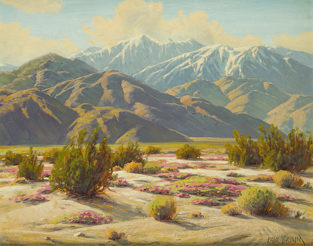 Lot 2031: Paul Grimm (1891-1974 Palm Springs, CA) Image