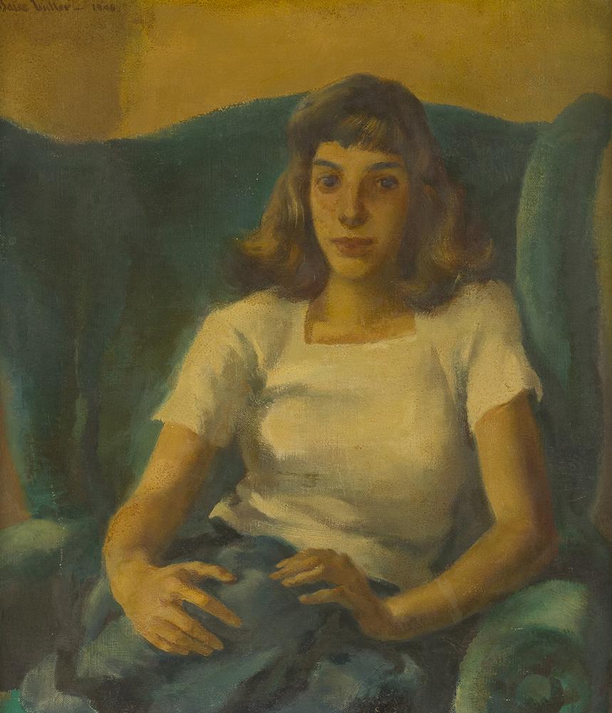 Lot 2038: Barse Miller ANA (1904-1973 Pasadena, CA) Image