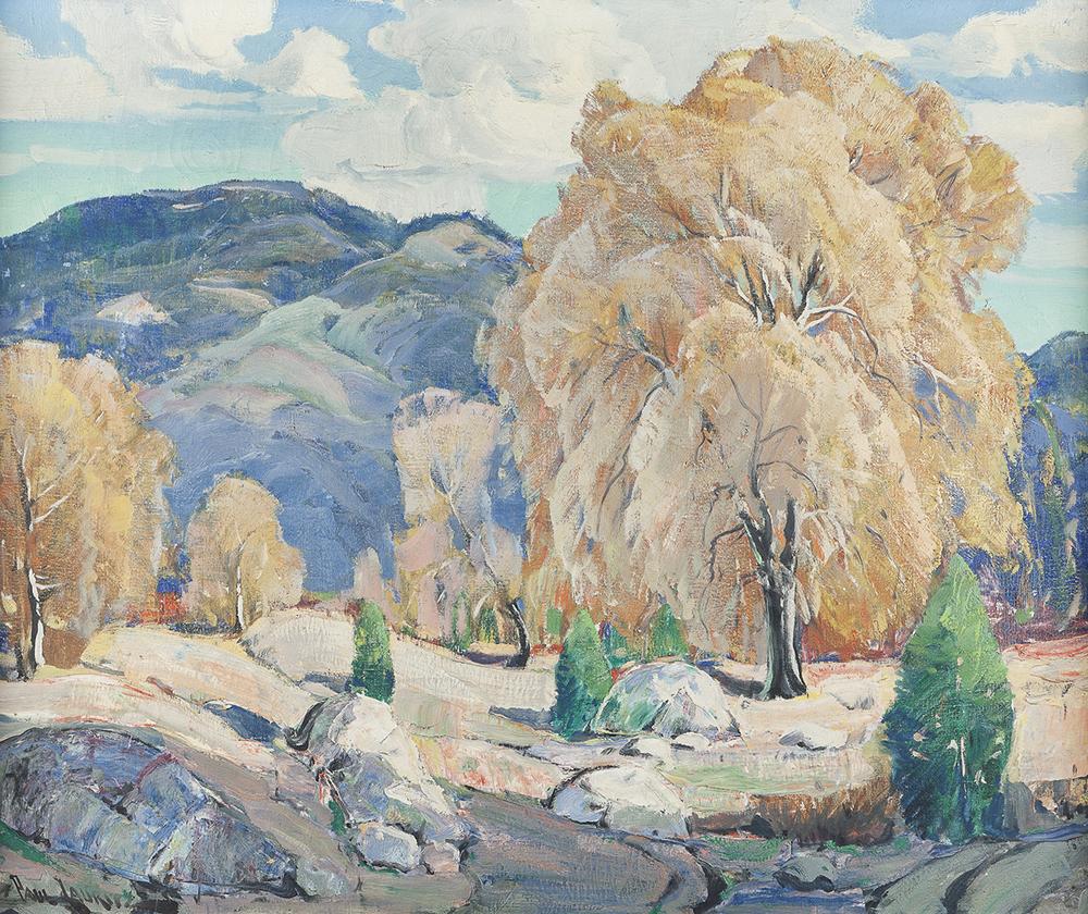 Lot 2042: Paul Lauritz (1889-1975 Glendale, CA) Image