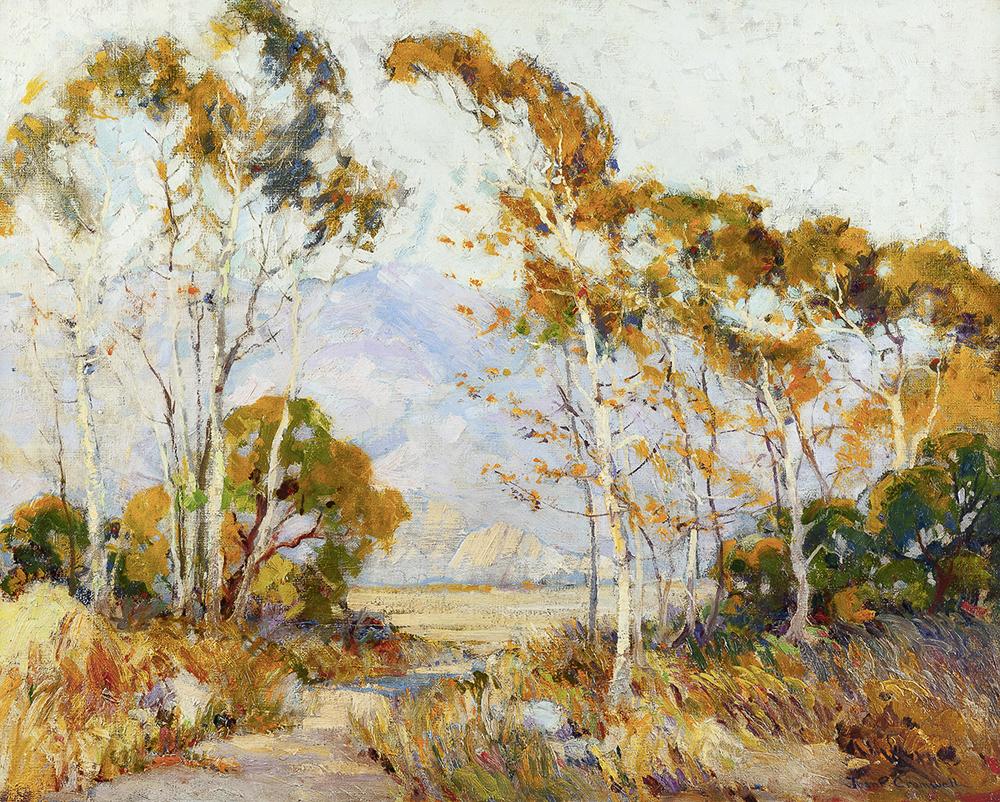Lot 2043: Joane Cromwell (1895-1969 Laguna Beach, CA) Image
