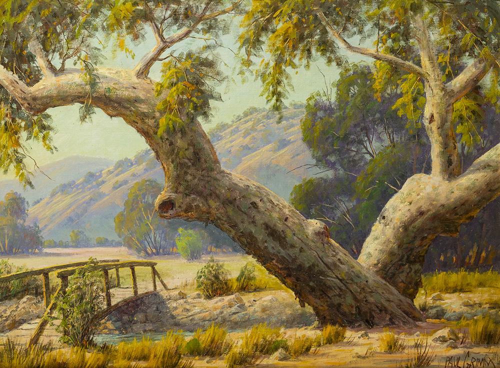 Lot 2045: Paul Grimm (1891-1974 Palm Springs, CA) Image