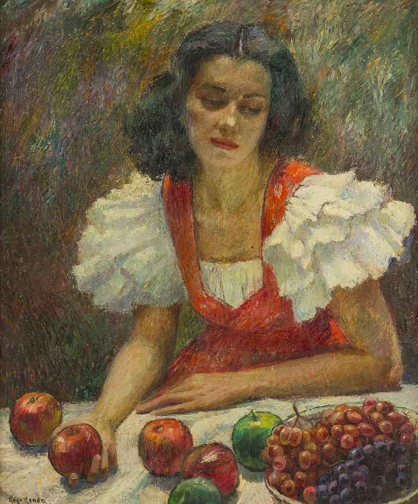 Lot 2048: Geza Kende (1889-1952 Hollywood, CA) Image