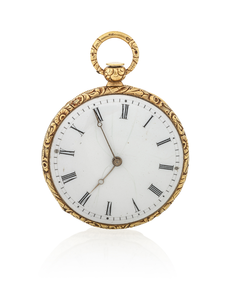 Lot 1012: A Vacheron & Constantin gold and enamel pocket watch Image