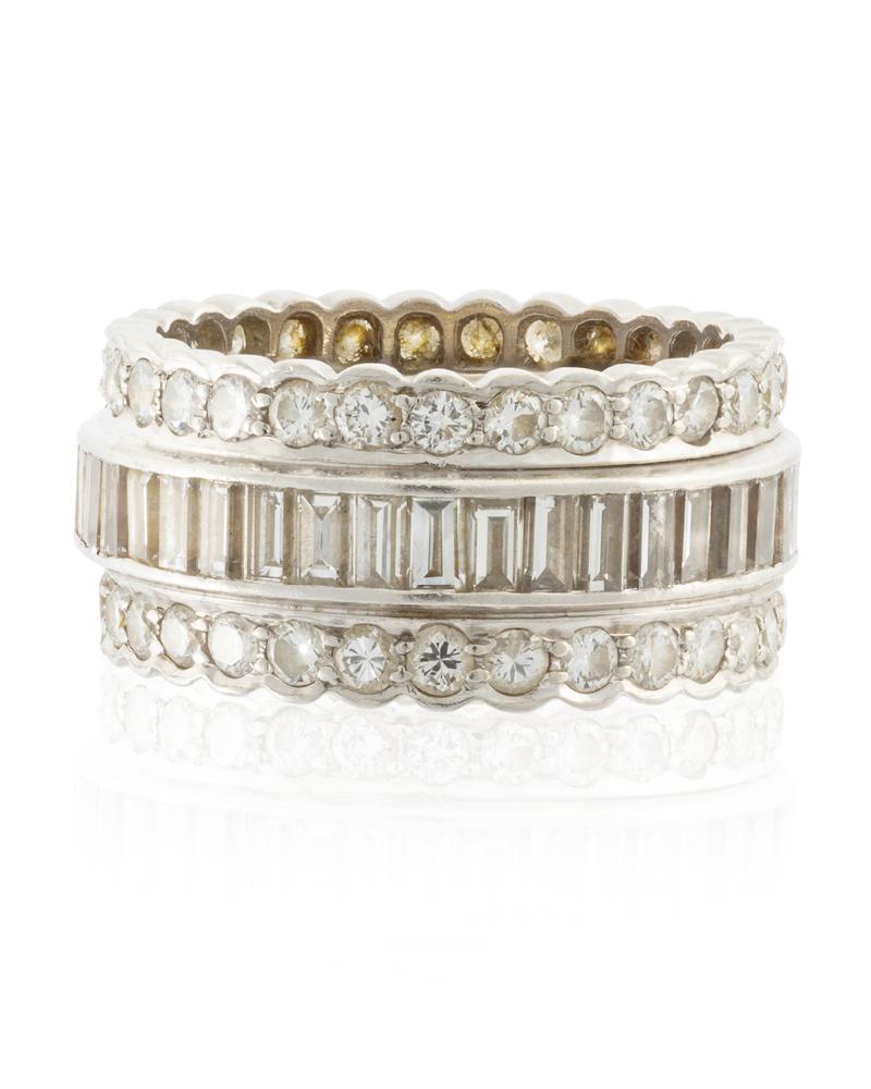 Lot 1024: A diamond eternity band Image
