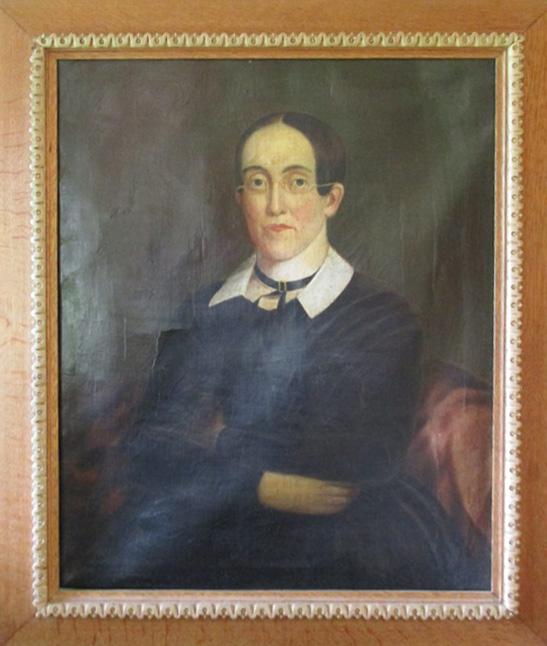 1840 Portrait - Oil - Unknown American Artist