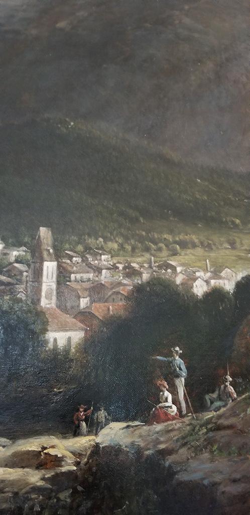 """""""Bavarian Alps"""" Detail"""