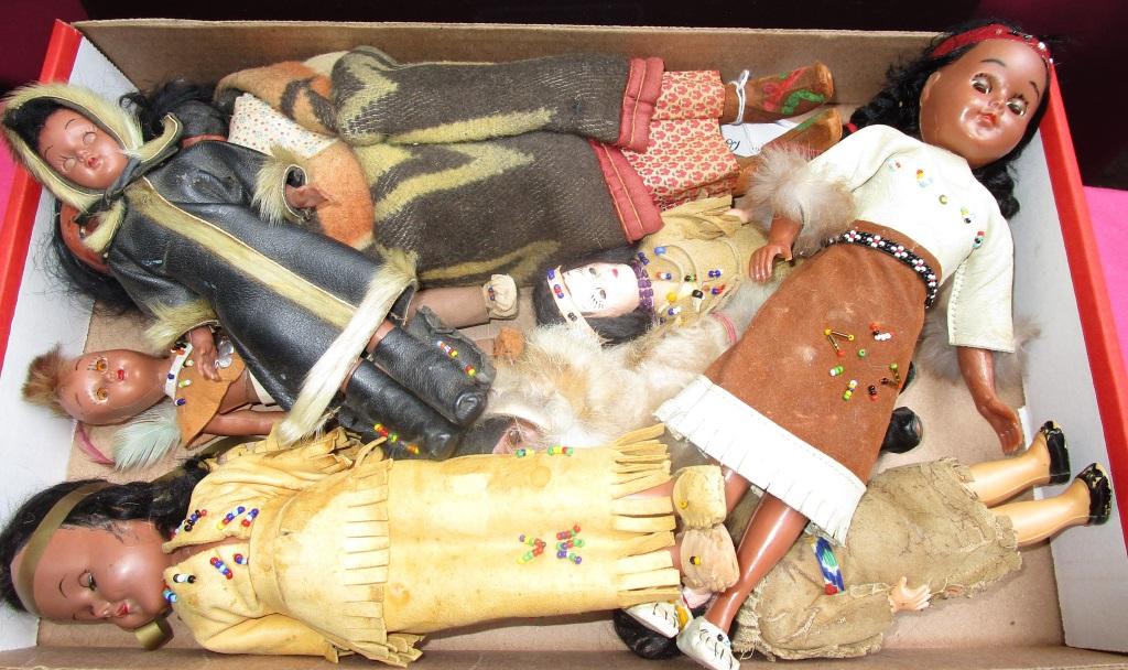 Antique Skookum Dolls 2